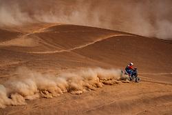 January 11, 2019 - Arequipa, Peru - AREQUIPA, PU - 11.01.2019: DAKAR 2019 - Cavigliasso Nicolas (ARG) during the Dakar Rally 2019, this Friday (11), in Arequipa, Peru. (Credit Image: © Vinicius Branca/Fotoarena via ZUMA Press)