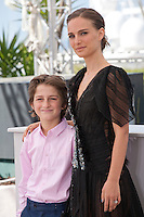 Director Natalie Portman and actor Amir Tessler at the A Tale Of Love And Darkness  film photo call at the 68th Cannes Film Festival Sunday May 17th 2015, Cannes, France.