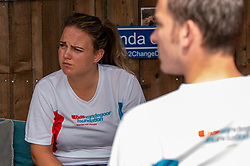 We Run for Diabetes in training on June 21, 2020 in Apeldoorn, Netherlands