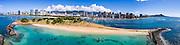 Magic Island, Waikiki, Oahu, Hawaii