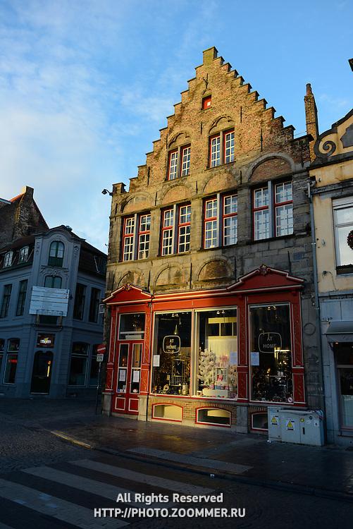 Shop In Brugge Old Town, Belgium