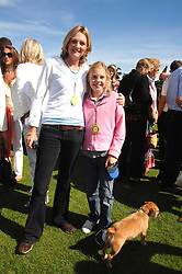 LADY LLOYD-WEBBER and her daughter ISABELLA at the final of the Veuve Clicquot Gold Cup 2007 at Cowdray Park, West Sussex on 22nd July 2007.<br /><br />NON EXCLUSIVE - WORLD RIGHTS