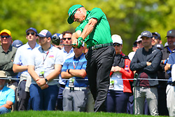 May 16, 2019 - Farmingdale, NY, U.S. - FARMINGDALE, NY - MAY 16:  Charley Hoffman of the United States on the 6th Tee during the first round of the 2019 PGA Championship at the Bethpage Black course on May 16, 2019 in Farmingdale, New York. (Photo by Rich Graessle/Icon Sportswire) (Credit Image: © Rich Graessle/Icon SMI via ZUMA Press)