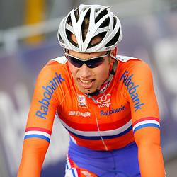 HUYBERGEN (NED) veldrijden <br />WK 2008-2009<br />Eddy van Ijzendoorn