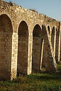Israel, Western Galilee, Kibbutz Lohamei HaGeta'ot The Roman Aqueduct