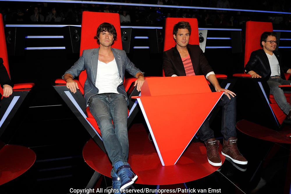 De Juryleden van de Voice of Holland Nick & Simon