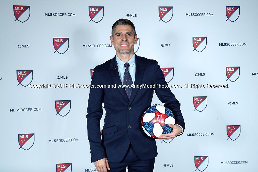 CHICAGO, IL - JANUARY 11: FC Dallas head coach Luchi Gonzalez. The MLS SuperDraft 2019 presented by adidas was held on January 11, 2019 at McCormick Place in Chicago, IL.