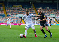 Leeds United's Mateusz Klich shields the ball from Charlton Athletic's Alfie Doughty<br /> <br /> Photographer Alex Dodd/CameraSport<br /> <br /> The EFL Sky Bet Championship - Leeds United v Charlton Athletic - Wednesday July 22nd 2020 - Elland Road - Leeds <br /> <br /> World Copyright © 2020 CameraSport. All rights reserved. 43 Linden Ave. Countesthorpe. Leicester. England. LE8 5PG - Tel: +44 (0) 116 277 4147 - admin@camerasport.com - www.camerasport.com