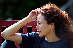 Actress Andie MacDowell visits Andie's Camp for Kids, a camp for children with diabetes, in Flatrock. © The Charlotte Observer/L.Mueller