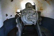 Back of the big gun, six inch rifle