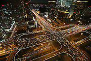 JINAN, CHINA - SEPTEMBER 25: (CHINA OUT) <br /> <br /> China Encounters Traffic Jam Ahead Of The Mid-Autumn Festival And National Day Holiday<br /> <br /> Vehicles stuck on the road at the evening rush hours the day before the two-day Mid-Autumn holiday on September 25, 2015 in Jinan, Shandong of China. The old traditional Chinese Mid-Autumn Festival will fall on Sunday this year and there being two days of holiday for the festival. As the National Day holiday draws near, people start to arrange their vocation schedule.<br /> ©Exclusivepix Media