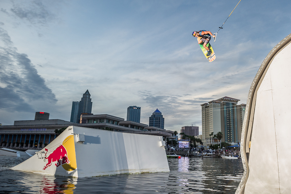 Mike Dowdy Competes at Red Bull Wake Open in Tampa Bay, Florida on July 5th 2013.