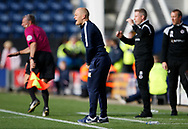 Alex Neil Manager of Preston North End during the EFL Sky Bet Championship match between Preston North End and Millwall at Deepdale, Preston, England on 23 September 2017. Photo by Paul Thompson.