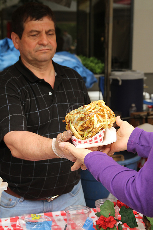Food at the 40th Annual Fremont Fair 2011