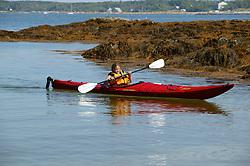 Tia Sherburne Kayaking
