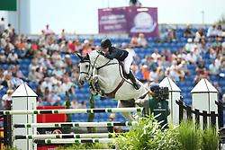 Gulliksen Victoria, (NOR), Bokai<br /> Team Competition round 1 and Individual Competition round 1<br /> FEI European Championships - Aachen 2015<br /> © Hippo Foto - Stefan Lafrentz<br /> 19/08/15
