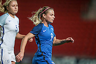 Eugenie Le Sommer (France) during the International Friendly match between England Women and France Women at the Keepmoat Stadium, Doncaster, England on 21 October 2016. Photo by Mark P Doherty.