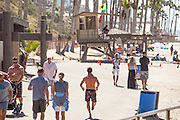 Summertime at the Beach in San Clemente