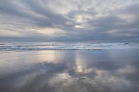 Sand beach Oregon Coast