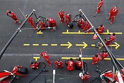 October 27, 2017 - Mexico-City, Mexico - Motorsports: FIA Formula One World Championship 2017, Grand Prix of Mexico, ..mechanic of Scuderia Ferrari  (Credit Image: © Hoch Zwei via ZUMA Wire)
