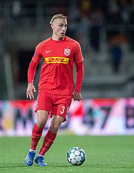 Ulrik Yttergård Jenssen (FC Nordsjælland) under kampen i 3F Superligaen mellem FC Nordsjælland og AC Horsens den 19. februar 2020 i Right to Dream Park, Farum (Foto: Claus Birch).