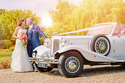 Summer wedding in Lower Sundon, Bedfordshire