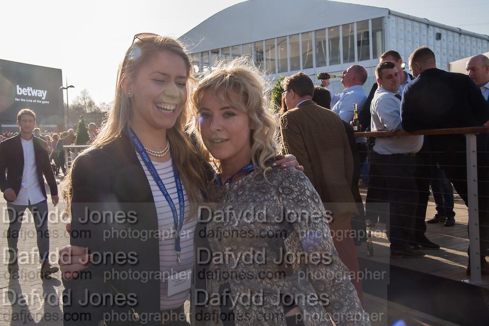JOANNA BELL, Cheltenham races,  Ladies Day, Wednesday 15 March 2017