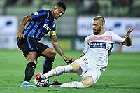 Fredy Guarin-Matteo Fedele<br /> Modena 30/08/2015 - campionato di calcio serie A / Carpi-Inter  foto Matteo Gribaudi/Image Sport