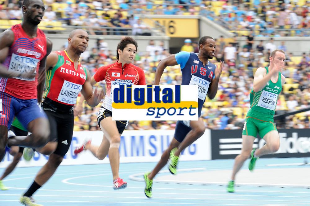 ATHLETICS - IAAF WORLD CHAMPIONSHIPS 2011 - DAEGU (KOR) - DAY 7 - 02/09/2011 - PHOTO : STEPHANE KEMPINAIRE / KMSP / DPPI - <br /> 200 M - HEAT 1 - MEN - DARVIS PATTON (USA)
