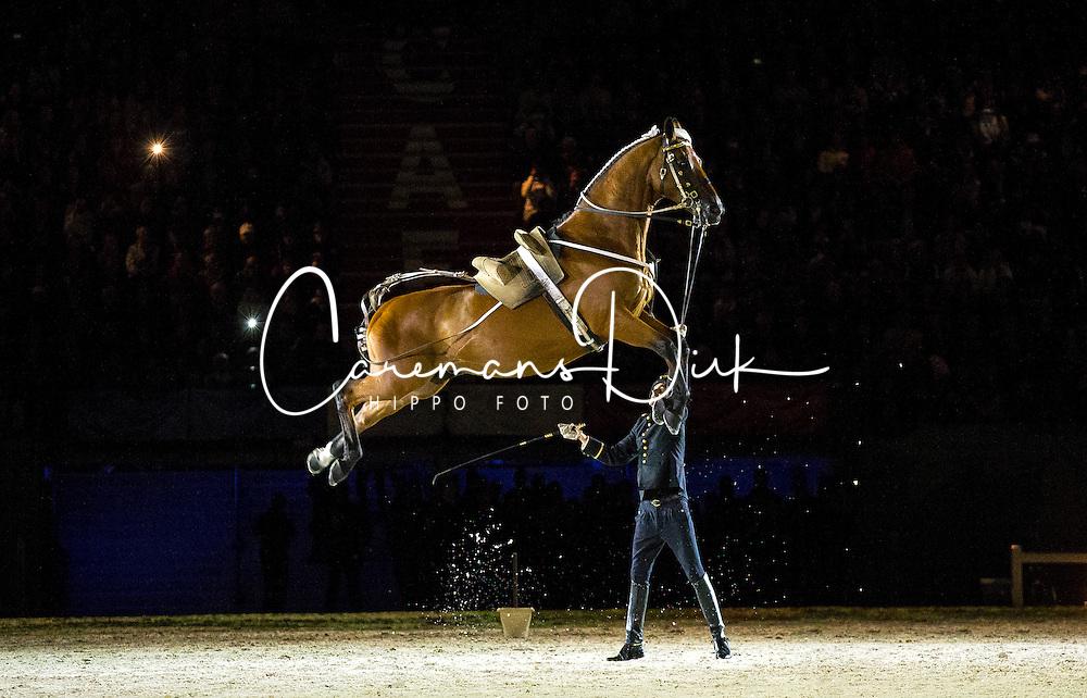 Opening Ceremony Cadre Noir<br /> Alltech FEI World Equestrian Games™ 2014 - Normandy, France.<br /> © Hippo Foto Team - Leanjo de Koster<br /> 25/06/14