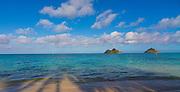Mokulua Islands, Lanikai, Beach, Kailua, Oahu, Hawaii