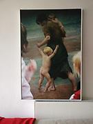 foto in privebezit / formaat 65,5x100cm / witte baklijst