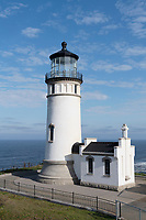 North Head Lighthouse  Cape Disappointment State Park Washington