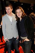 Premiere van de film Sonny Boy op maandag 17 januari in het Circus Theater in Scheveningen.<br /> <br /> Op de foto: Raynor Arkenbout en Guido Spek