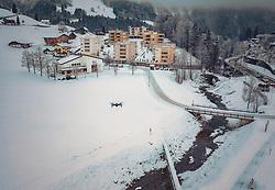 THEMENBILD - eine Drohne in der Luft, aufgenommen am 15. Dezember 2018 in Engelberg, Schweiz // a drone in the air, Engelberg, Switzerland on 2018/12/15. EXPA Pictures © 2018, PhotoCredit: EXPA/ JFK