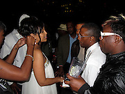 Lisa Raye, Actress and Former First Lady of Turks & Caicos with Tommy Davidson, Actor/Comedian, and Joe..Lisa Raye: The Real McCoy Premiere Screening Launch Party - Inside..Standard Hotel Downtown LA Rooftop..Los Angeles, CA, USA..Tuesday, April 06, 2010..Photo ByCelebrityVibe.com.To license this image please call (212) 410 5354; or Email:CelebrityVibe@gmail.com ;.website: www.CelebrityVibe.com.