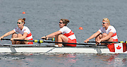 Trackai. LITHUANIA. CAN BW4-. Bow, Christine ROPER, Susanne GRAINGER, Cherly COPSON and Antje VON SEYDLITZ-KURZBACH Gold medalist in the women's four at the 2012 FISA U23 World Rowing Championships,  Lake Galve.    16:17:05  Saturday  14/07/2012 [Mandatory Credit: Peter Spurrier/Intersport Images]..Rowing. 2012. U23.