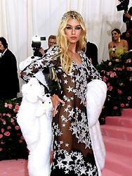 Stella Maxwell attending the Metropolitan Museum of Art Costume Institute Benefit Gala 2019 in New York, USA.