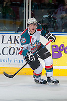 KELOWNA, CANADA - JANUARY 23: Rodney Southam #17 of Kelowna Rockets skates against the Everett Silvertips on January 23, 2015 at Prospera Place in Kelowna, British Columbia, Canada.  (Photo by Marissa Baecker/Shoot the Breeze)  *** Local Caption *** Rodney Southam;