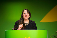 DEU, Deutschland, Germany, Berlin, 23.11.2018: Amelia Womack, Deputy Leader of the Green Party of England and Wales. Council of the European Green Party (EGP council) at Deutsche Telekom Representative Office.