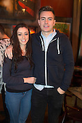 NO FEE PICTURES<br /> 30/12/15 Brian Kingston and Elana Archer, Wicklow at the Lingo Brunch poetry reading at the Meeting House, part of the New Years Festival in Dublin. nyf.com running from 30th Dec to 1st Jan in Dublin. Picture: Arthur Carron