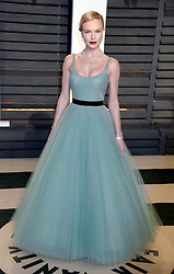 Kate Bosworth at The 2017 Vanity Fair Oscar Party in Beverly Hills, CA.