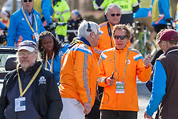 2014 Boston Marathon: Grand Marshall and 4-time winner Bill Rodgers