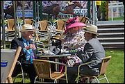 PETER GILBERT; VICKY GILBERT; GUY GILBERT, Ebor Festival, York Races, 20 August 2014