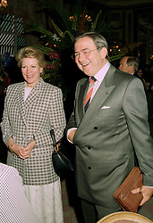 EX KING CONSTANTINE and QUEEN ANNE MARIE OF GREECE at a party in London on 4th July 1997.LZY 14