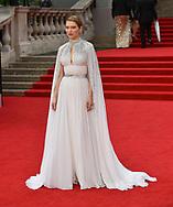 Tuesday 28 September 2021<br />Bond: No Time To Die - world film. premiere <br />The Royal Albert Hall<br /> Léa Seydoux