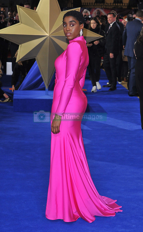 Captain Marvel European gala film premiere, Curzon Mayfair, Curzon Street, London, England, UK, on Wednesday 27th February 2019. CAP/CAN ©CAN/Capital Pictures. 27 Feb 2019 Pictured: Lashana Lynch. Photo credit: CAN/Capital Pictures / MEGA TheMegaAgency.com +1 888 505 6342