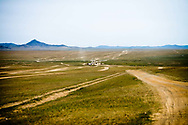 The southern route from western Mongolia to Ulaanbaatar runs eastward through Govi-Altai Province, Mongolia.