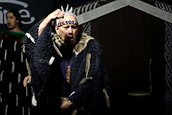June 16, 2018 - Christchurch, New Zealand - Traditional Maori dancers perform to celebrate Matariki at Willowbank Wildlife Reserve in Christchurch, New Zealand on June 15, 2018. Matariki signals the New Year of New Zealand's indigenous Maori population. (Credit Image: © Sanka Vidanagama/NurPhoto via ZUMA Press)