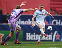Rugby Union - 2019 / 2020 Heineken Cup - Final - Exeter Chiefs vs Racing 92 - Ashton Gate, Bristol<br /> <br /> Racing 92's Finn Russell in action during this afternoon's game.<br /> <br /> COLORSPORT/ASHLEY WESTERN